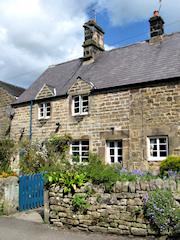 Cottages in Beeley