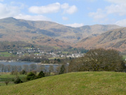 View towards Coniston Village