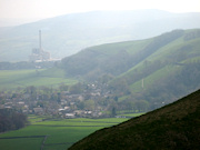 View of Castleton from Mam Tor