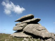 Granite Boulders on Rough Tor