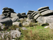 Granite Rocks on Rough Tor