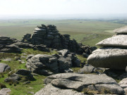 View from the summit of Rough Tor